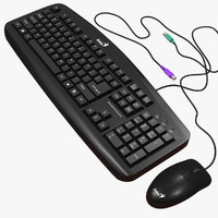 Keyboard and Mouse Genius